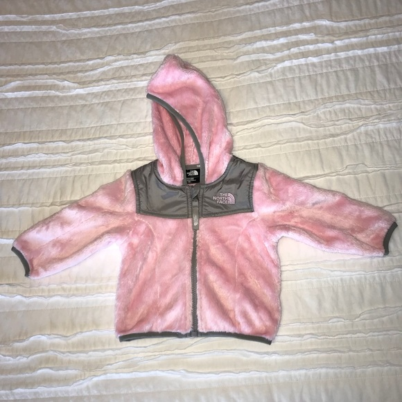 2615ebdb5 The North Face OSO Baby Jacket, Pink and Gray